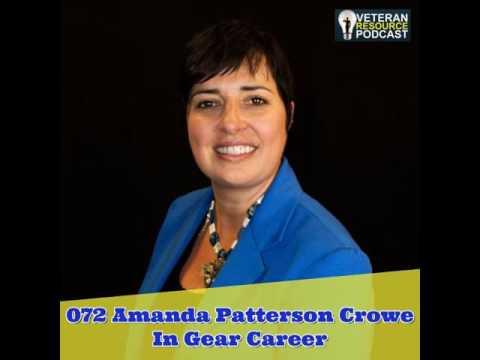 072 Amanda Patterson Crowe - In Gear Career