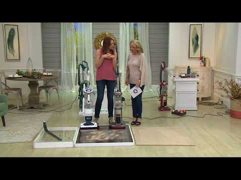 Shark DuoClean Slim Upright Vacuum w/6 Cleaning Tool Attachment on QVC
