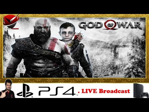 God of War | PS4 | Journey Continues  | Live Broadcast | #4
