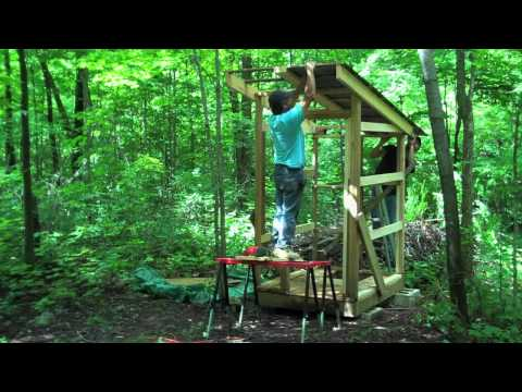 Building A Nice Outhouse
