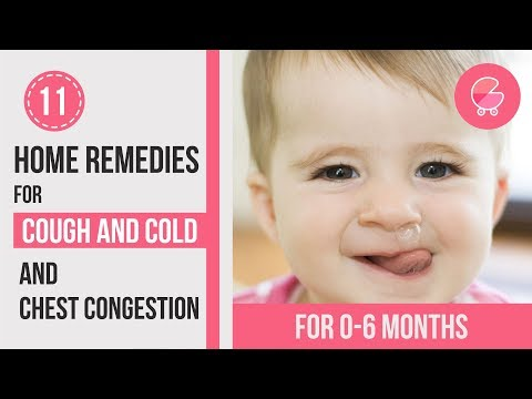 Treat Cough & Cold at Home | Remedies for 0-6 months old babies