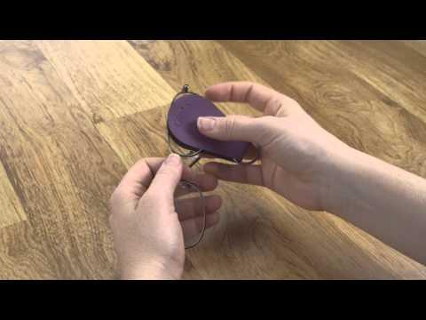 Gwee Guppy Keyring, A Handy Microfiber Glasses Cleaning Cloth