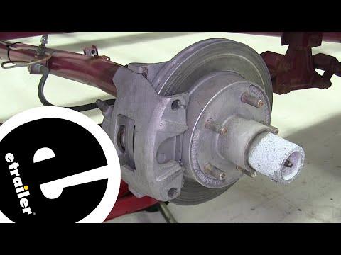 Kodiak Ceramic Brake Pads with Stainless Steel Backing Plate Installation - etrailer.com