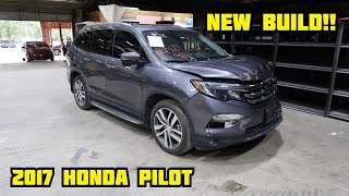 I Bought A Cheap 2017 Honda Pilot From The Auction And Going To Rebuild It!!
