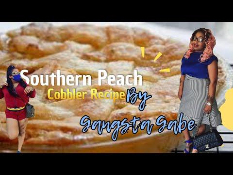 Best Southern Peach Cobbler Recipe