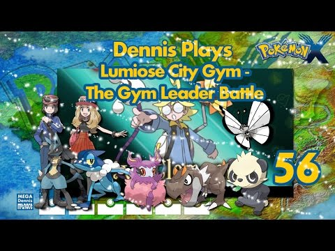 Let's Play Pokemon X (Ep 56) Lumiose City Gym - The Gym Leader Battle