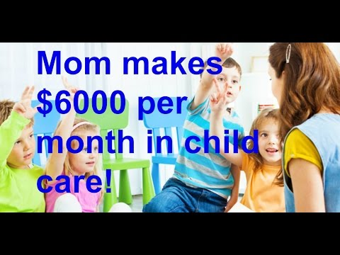 How to make money in childcare