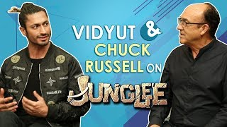 Vidyut Jammwal Talks About His Movie JUNGLEE With Chuck Russell | EXCLUSIVE