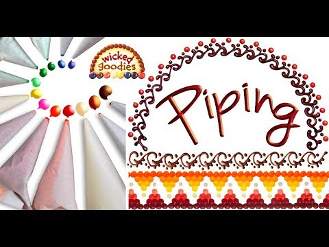 Piping with Paper Cones Compilation