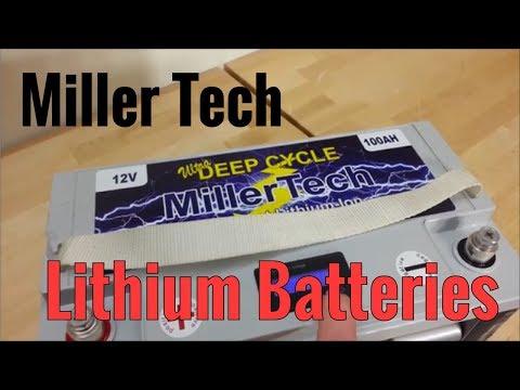 Miller Tech Lithium Batteries