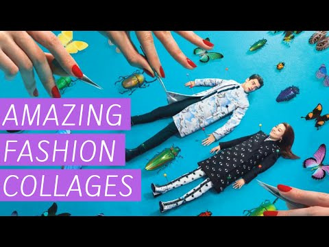 Amazing Fashion Collages