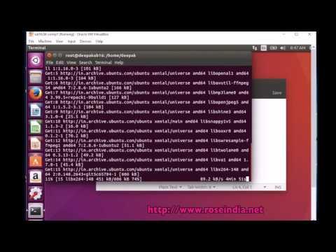 How to install ffmpeg on Ubuntu 16.04?