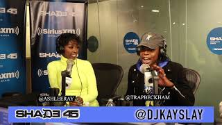 TRAP BECKHAM interview with Dj Kayslay at Shade45 SiriusXM