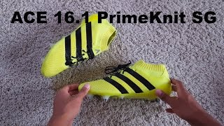 sneakers for cheap f1ab8 3710e 0141. Adidas Ace 16.1 PrimeKnit SG Unboxing  Speed of Light Pack