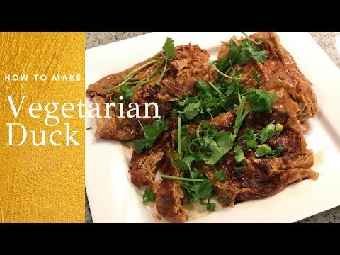 How to Make Asian Vegetarian Duck (素烧鸭)