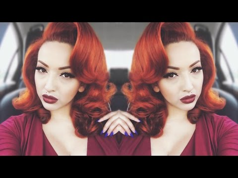 Pin-Up Glam | Voluminous Hair Tutorial