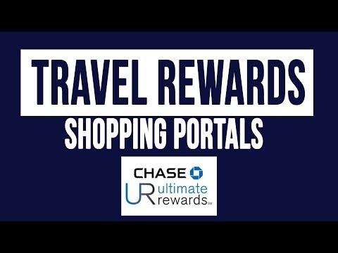 Maximizing Travel Rewards Points Using Shopping Portals