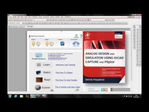 OrCAD PSpice Simple Circuit Page 13 Video 1 of 6