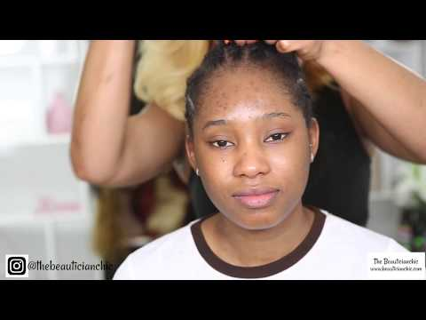 CLIENT HAIR AND MAKEUP TRANSFORMATION VLOG 1 /WOWEBONY HAIR
