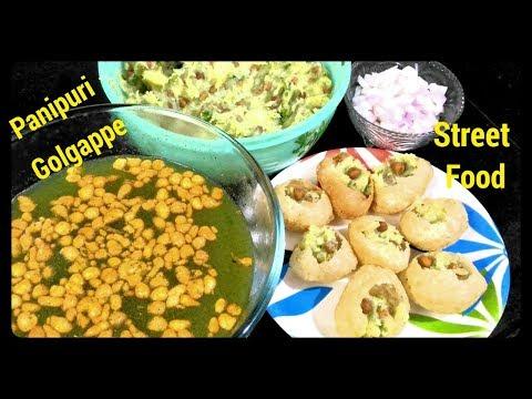 panipuri recipe in hindi/Golgappa/puchka/masala stuffing for golgappa