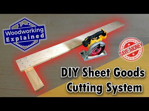DIY Sheet Goods Cutting System that is better than a Track Saw System?