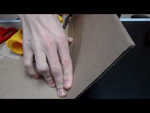 How To: Make a Holster any nerf gun and quickdraw