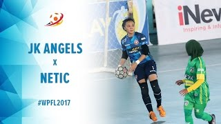 Jaya Kencana Angels (5)  vs (0) Netic Ladies Cibinong - Women Pro Futsal League 2017