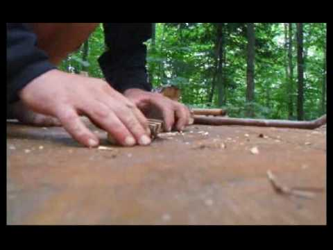 Bow Drill Fire - Wilderness Survival