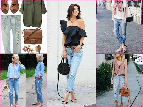 How to Wear Boyfriend Jeans This Summer - Trendy Outfits Ideas