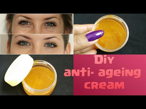 diy skin tightening day cream for anti-ageing.