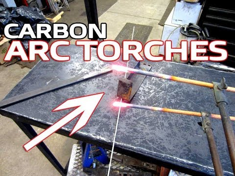Demonstration Of Carbon Arc Torches