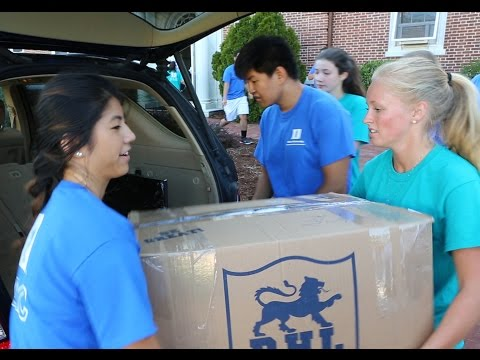 Duke Class of 2020 Move In Day