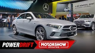 Mercedes-Benz A 250e Saloon : Going Green : IAA 2019  : PowerDrift