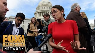 Ocasio-Cortez accuses Amazon of paying 'starvation wages'