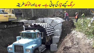 Tunnel Kese Bnai Jati Hy | Incredible Construction Workers And Tools