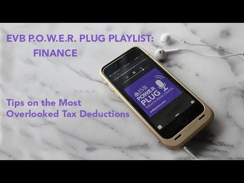 P.O.W.E.R. Plug Podcast: Tips on the Most Overlooked Tax Deductions