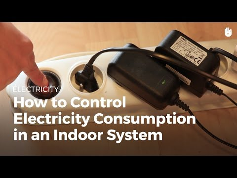 How to Control Electricity Consumption   Electricity