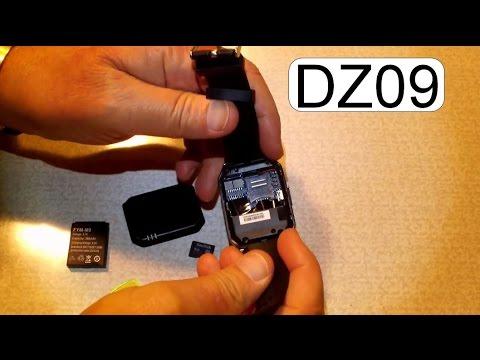 INSERT MICRO SD CARD TO DZ09 SMART WATCH PHONE