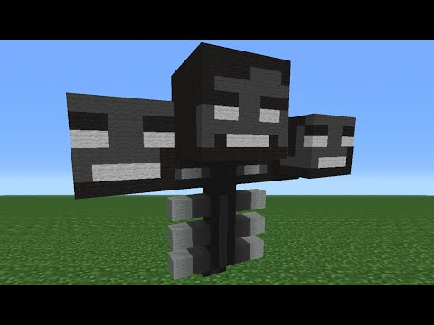 Minecraft Tutorial: How To Make The Wither Boss