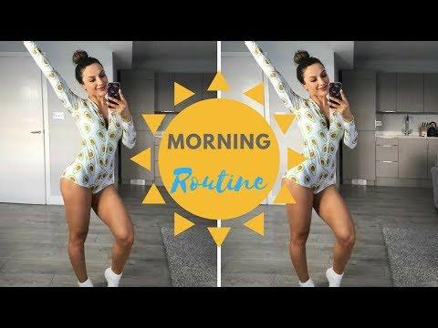 MORNING ROUTINE | Sweaty Leg Workout