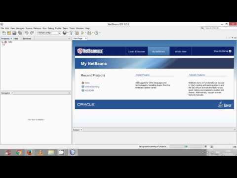 How to run java project in netbeans