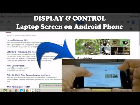How to - DISPLAY your PC/Laptop screen on you  Android SmartPhone and Control it. [SIMPLIFIED]