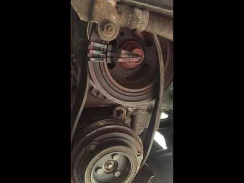 2011 Mazda 3 stretch belt installation