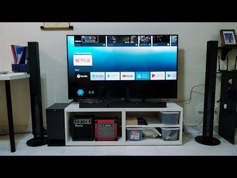 $1000 4K TV HOME THEATRE SETUP!