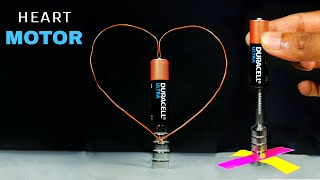 World's Simplest Electric Motor || Simplest DC Motor Science Project