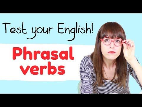 ¿Puedes sacar un 10? 🙈 Examen de phrasal verbs