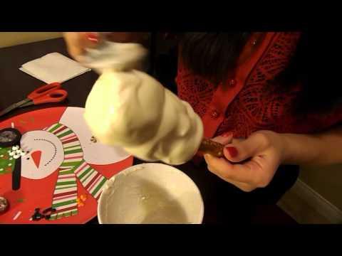 How To Make White Chocolate Marshmallow Snowmen Pretzels