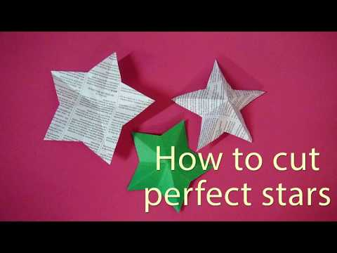 How to Cut Perfect Stars - DIY