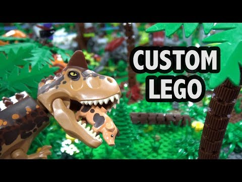 Huge LEGO Jurassic World Dinosaur Island | Philly Brick Fest 2018