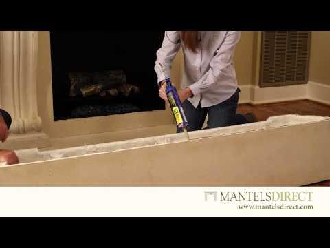 Stone Mantel Surround Kit | Installation | MantelsDirect.com